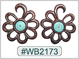 WB2173 Flower Ear Designs