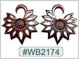 WB2174 Stylized Floret Ear Design