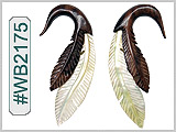 WB2175 Feather Ear Designs
