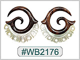 WB2176 Horn & Bone Ear Designs