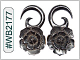 WB2177 Lotus Flower Ear Design THUMBNAIL