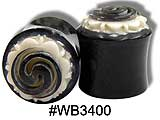 WB3400 Spiral Horn and Bone Plug