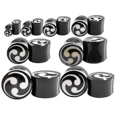 WB3600 Horn Ear Plug Swirl Inlay MAIN