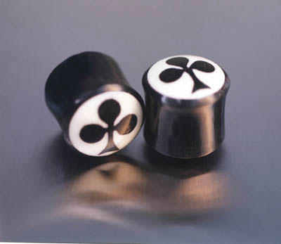 WB4021 Horb with Bone Insert Club Plug Pairs