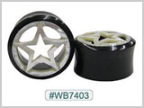 WB7403 Black Tunnel with White Star