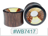 WB7417 Black Wood with Coco & Croco Wood