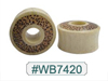 WB7420 Leopard Print Wood Tunnel