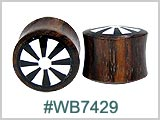 WB7429, Sun Design Solid Wood Plugs