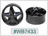 WB7433 Black Tunnel with  Star THUMBNAIL