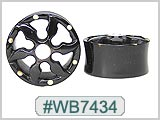 WB7434, Lotus Wheel Cut-out Tunnels