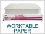 Work Table Paper Tray Liners THUMBNAIL