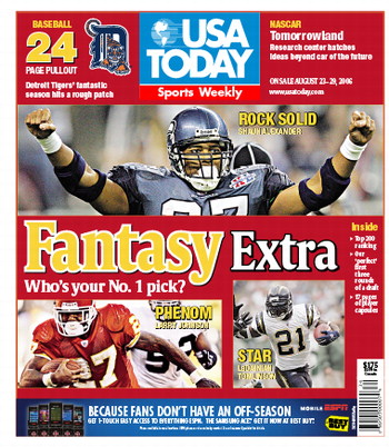 08/23/2006 Issue of Sports Weekly MAIN