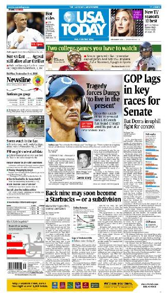 09/01/2006 Issue of USA TODAY MAIN
