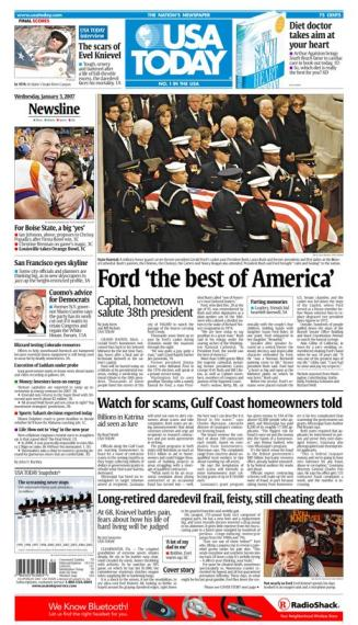 1/03/2007 Issue of USA TODAY MAIN