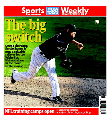 07/28/2010 Issue of Sports Weekly MAIN