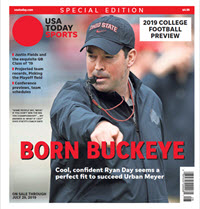USA TODAY Sports Special Edition - 2019 College Football Preview - Ohio State Cover THUMBNAIL