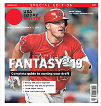 Fantasy Baseball 2019 Special Edition - Mike Trout Cover THUMBNAIL