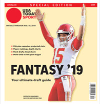 USA TODAY Sports Special Edition - 2019 Fantasy Football  -Chiefs Cover THUMBNAIL