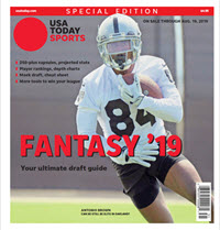 USA TODAY Sports Special Edition - 2019 Fantasy Football  - Raiders Cover THUMBNAIL