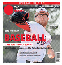 Baseball 2019 Preview Special Edition - Nationals Cover THUMBNAIL