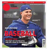 Baseball 2019 Preview Special Edition - Padres Cover THUMBNAIL
