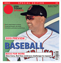 Baseball 2019 Preview Special Edition - Red Sox Cover THUMBNAIL