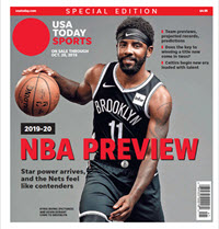 NBA Preview 2019-20 - Special Edition - Nets Cover THUMBNAIL