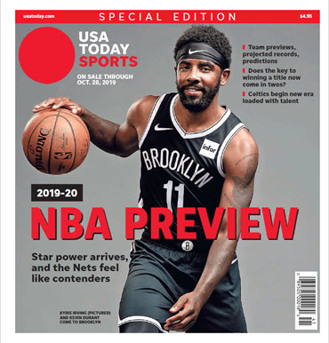 NBA Preview 2019-20 - Special Edition - Nets Cover MAIN