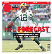 USA TODAY Sports  Special Edition - NFL Forecast  2019 - Packers Cover THUMBNAIL