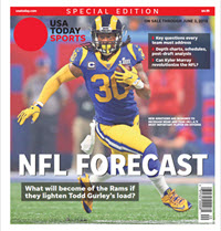 USA TODAY Sports Special Edition - NFL Forecast  2019 - Rams Cover THUMBNAIL