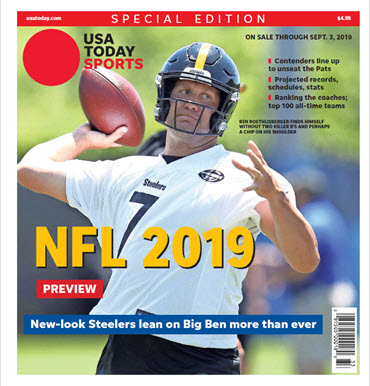 online store 8a103 a2506 2019 NFL Preview Special Edition - Steelers Cover