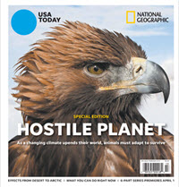 USA TODAY - National Geographic - Hostile Planet THUMBNAIL