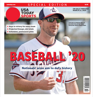 Baseball 2020 Preview Special Edition - Nationals Cover MAIN