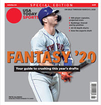 Fantasy Baseball 2020 Special Edition - Pete Alonso Cover THUMBNAIL
