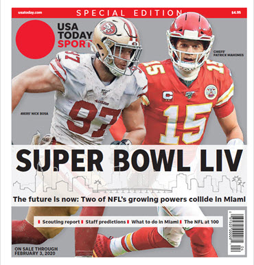 USA TODAY Sports 2020 Super Bowl LIV Preview Special Edition MAIN