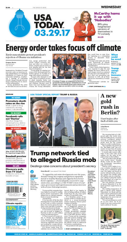 03/29/2017 Issue of USA TODAY – USA TODAY Online Store