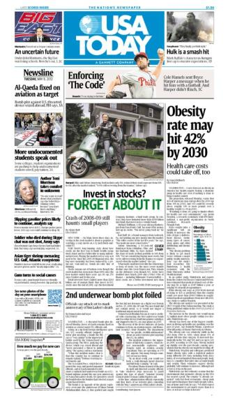 05/08/2012 Issue of USA TODAY MAIN