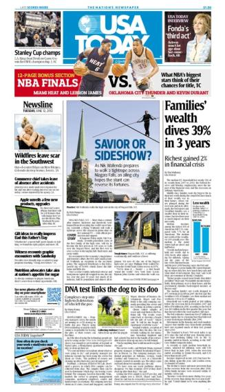 06/12/2012 Issue of USA TODAY MAIN