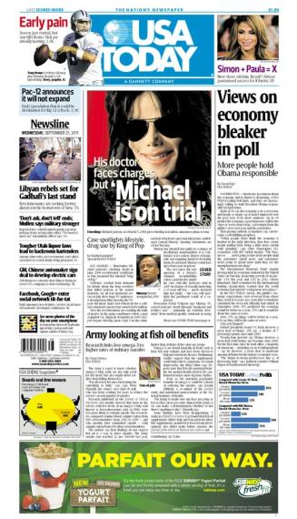 09/21/2011 Issue of USA TODAY MAIN