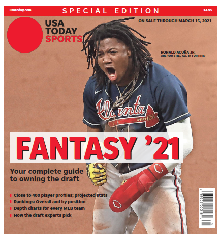 Fantasy Baseball 2021 Special Edition - Ronald Acuña Jr Cover MAIN