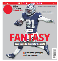 USA TODAY Sports Special Edition - 2020 Fantasy Football  - Cowboys Cover THUMBNAIL
