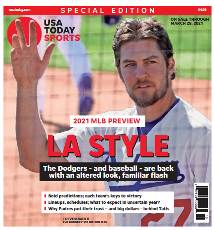Baseball 2021 Preview Special Edition - Dodgers Cover MAIN