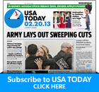 subscribe to USA Today