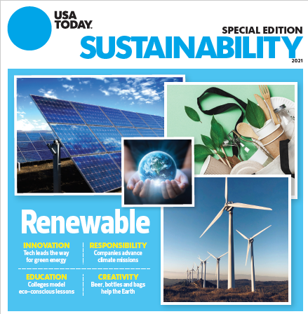 USA TODAY 2021 Sustainability Green Living Special Edition MAIN