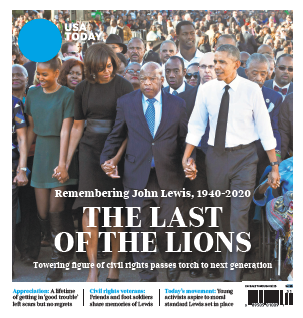 USA TODAY - John Lewis Special Edition MAIN