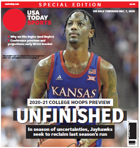 College Basketball Preview - 2020-21 Special Edition - Kansas Cover MAIN