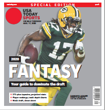 USA TODAY Sports Special Edition - 2020 Fantasy Football  - Packers Cover THUMBNAIL