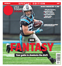 USA TODAY Sports Special Edition - 2020 Fantasy Football  - Panthers Cover THUMBNAIL