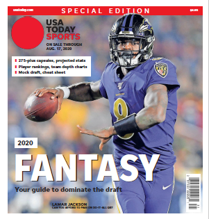 USA TODAY Sports Special Edition - 2020 Fantasy Football  - Ravens Cover MAIN