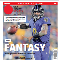 USA TODAY Sports Special Edition - 2020 Fantasy Football  - Ravens Cover THUMBNAIL